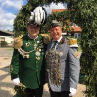 Majestäten Thorsten Pils und Clemens Flöter