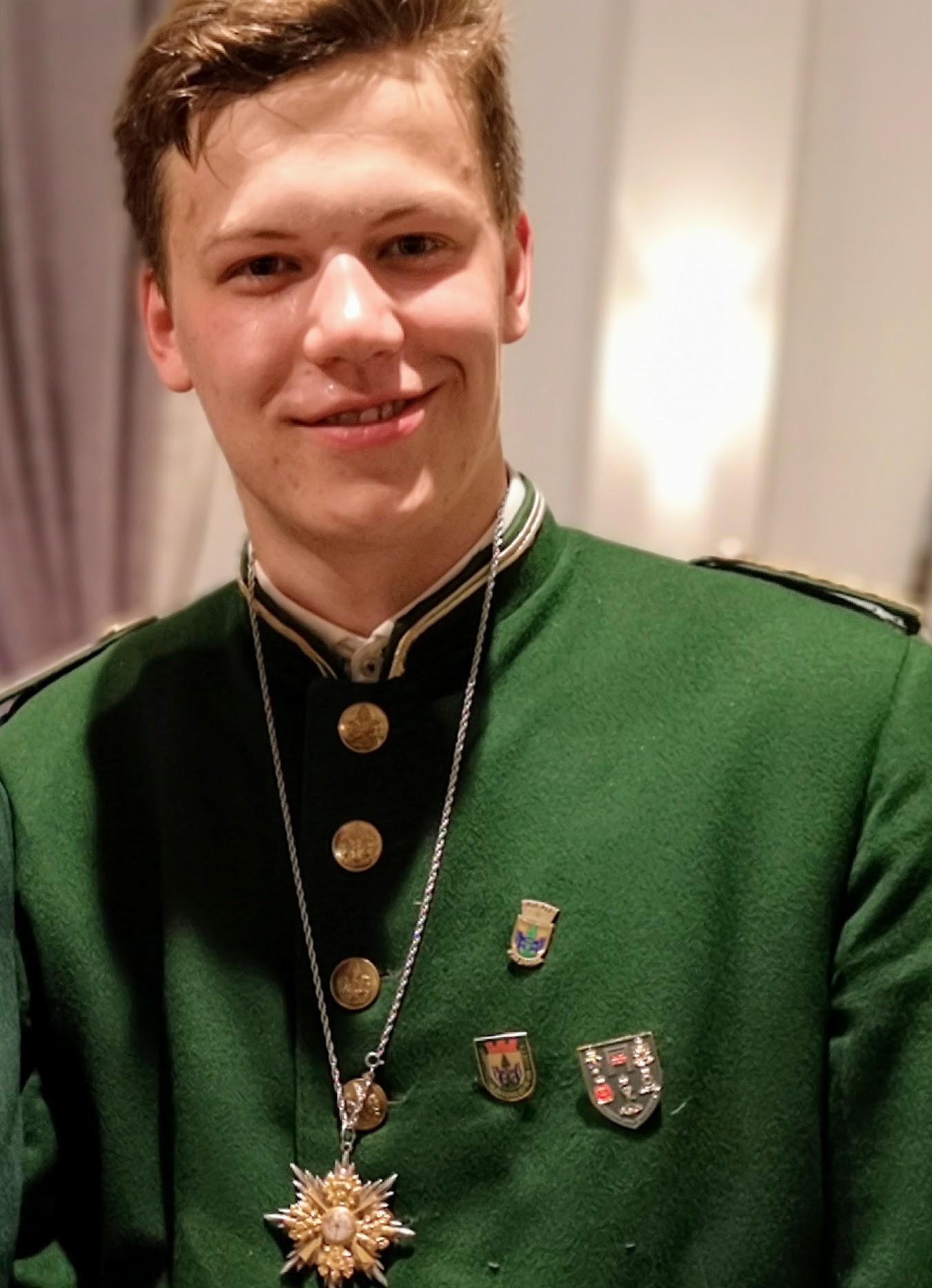 Moritz Wilfert ist seit 2019 Träger des Benjamin Ordens